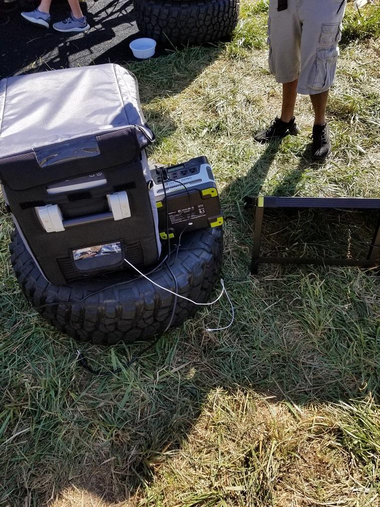 Solar Dometic Setup